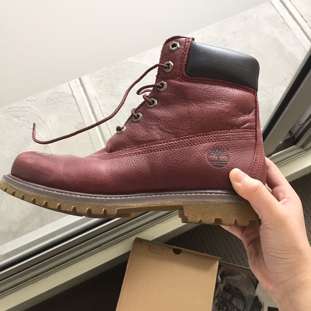 FLASH SALE Timberland Maroon Boots