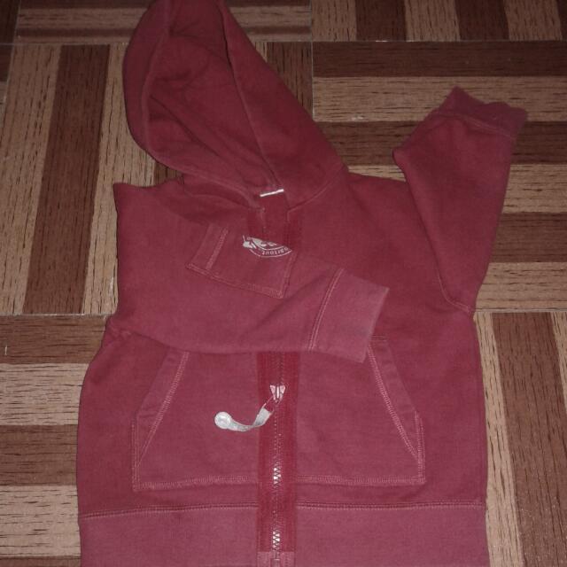 Unisex Red hoodie