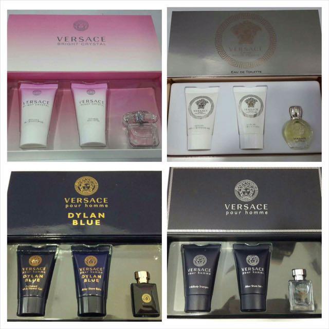 Versace Perfume Mini Gift Set Health Beauty Perfumes Nail Care