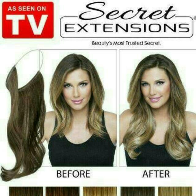 Wig Hair clip Secret Hair Extension