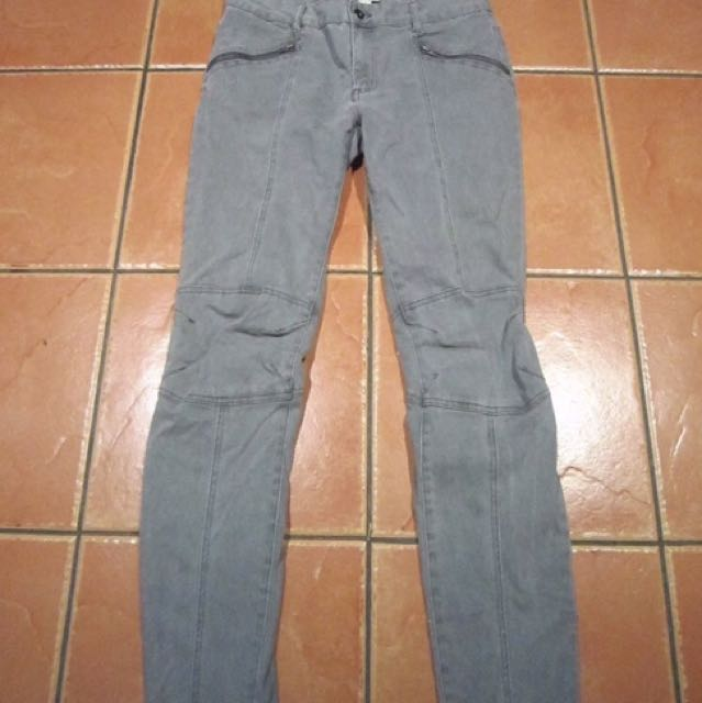 Witchery Suede Jeans Pants Size 12