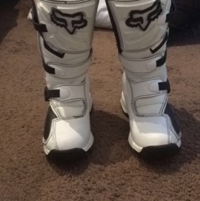 Youth FOX Motorbike Boots Size Y1