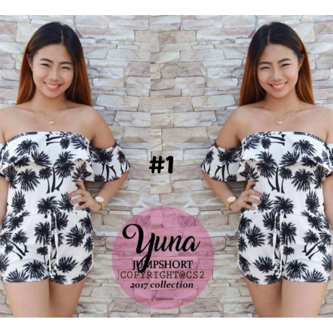 Yuna Romper [#1 to #4]