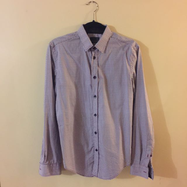 Zara - Brand New, Size Small, Long Sleeve Dress Shirt