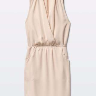 Aritzia Sabine Dress In Beige