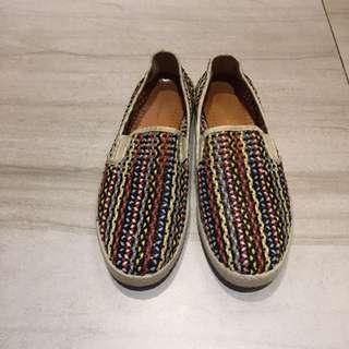 Rivieras 編織鞋 休閒鞋 便鞋 38號