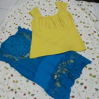 Cover Up 2pcs Top