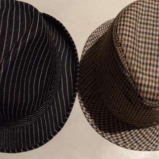 Preloved Fedora Hats (2 For 200)