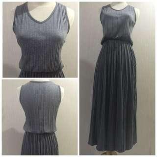 Preloved Pleated Dress