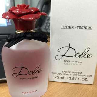 Dolce ROSA Excelsa AUTHENTIC TESTER PERFUME FROM UK