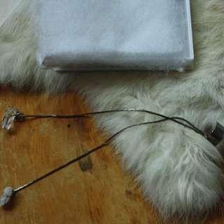 Handmade Crystal Dangle Earring Cuff
