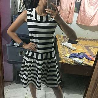 Stripes Dress - BELI 2 GRATIS 1