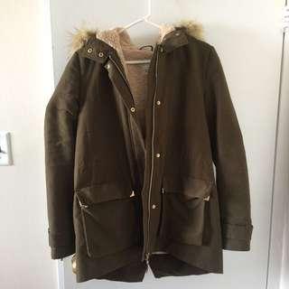 Zara Parka Coat