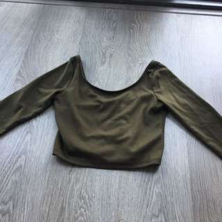 M boutique crop Top