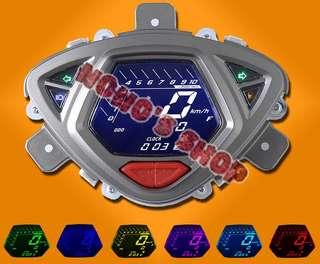 🚚 [Nono] 雅馬哈 Yamaha RSZ RS Zero 液晶 儀表 鬼火 通用 電子表 摩托車 改裝 儀表