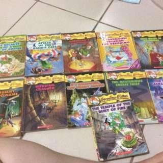 Geronimo Stilton Children's Books