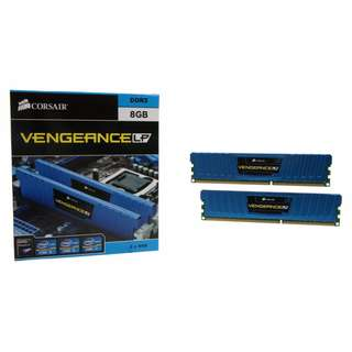 Corsair Vengeance® Low Profile Series — 8GB (2 × 4GB) DDR3 DRAM 1600MHz C9 Memory Kit (CML8GX3M2A1600C9B)