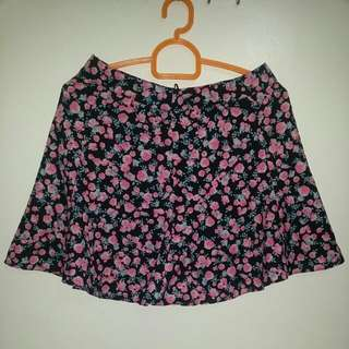 Divided By H&M Floral Skirt