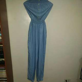 Maong Style Romper Suit