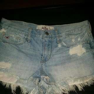 Hollister Short Shorts Size 26