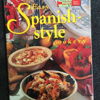 AWW Easy Spanish Style Cookery