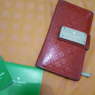 Kate Spade Stacy Wallet - Red Cherry