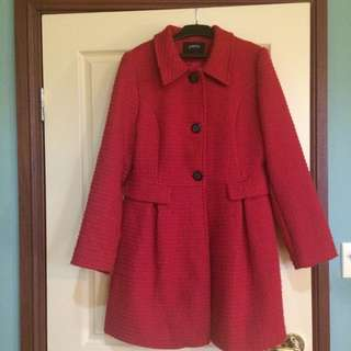 Red Papaya Dress Coat