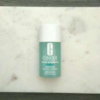 💛 Clinique Acne Solution Clinical Clearing Gel