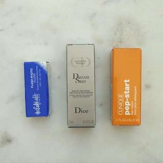 Various Skincare Travel Size