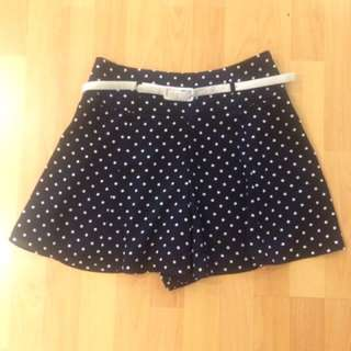 Review Polka Dot Shorts