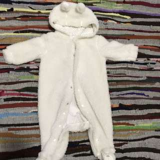 Winter Onesie 3-6 Mts