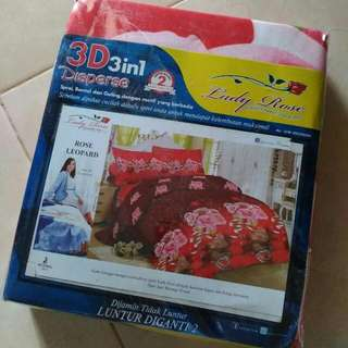 Sprei Lady Rose 3d 180x200