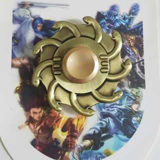 Metallic Fidget Spinner