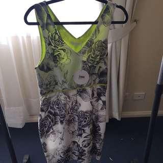 Talulah Graphic Print Dress Size L
