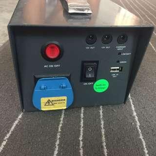 Rent Silent Generator Lithium