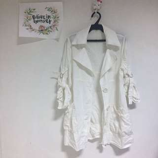 Authentic Juicy Girl Parka White