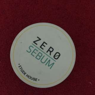 Etude Powder Zero Sebum
