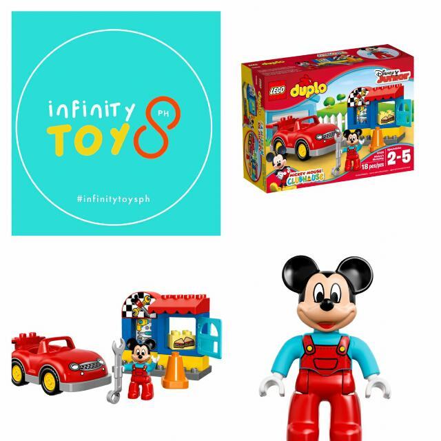 20% OFF!! Lego Duplo 10829 Mickey's Workshop