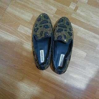 Leopard Swarovski Studded Steve Madden Shoes