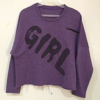 Purple Sweatshirt (unbranded)