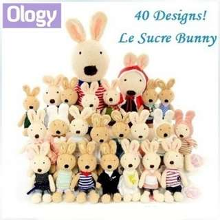 40 Designs! Ready Stock! Authentic Japanese Le Sucre Bunny Doll French Sugar Rabbit Plush Soft Toy