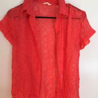 Gorman Orange Shirt