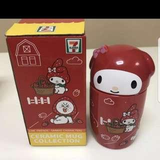 7 Eleven Sanrio N Line Mug