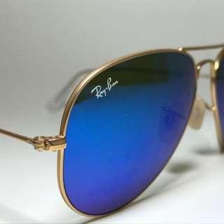 Authentic Rayban Aviator Sunglasses
