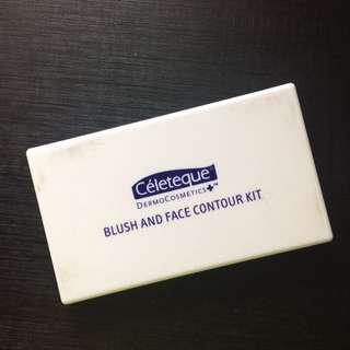 Celeteque Blush And Face Contour Kit