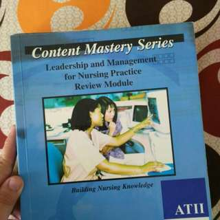 Content Mastery Series Review Module For Nurses / Nursing Students