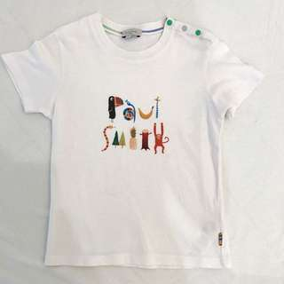 Paul Smith Baby Logo T Shirt ( Age 2-4 )
