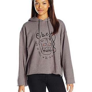 Obey Womens Oversized Sweater