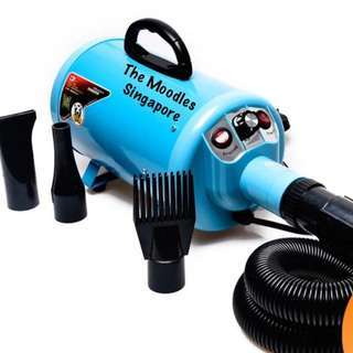 Blue 2800w High Power Pet Blower Quick Dry 10 Mins. With Warranty. Free Next Day Delivery.
