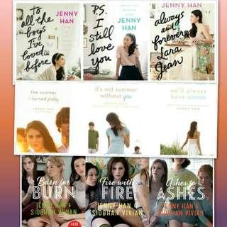 Jenny Han trilogy ebooks